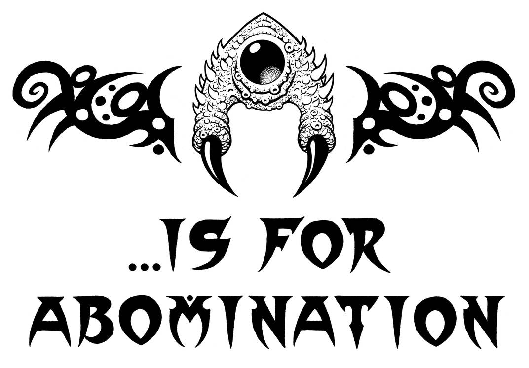 A is for Abomination by Tillinghast23