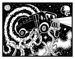 The Cosmic Bus by Tillinghast23