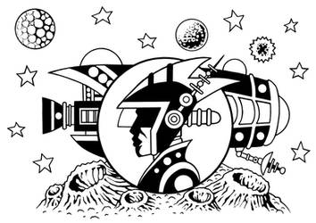 Outer System Adventure  2. Captain Volmar