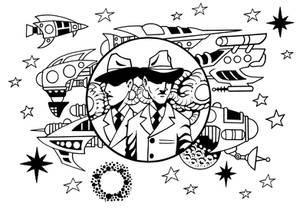 Outer System Adventure 4. The Nova Police