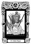 Atu IV: Father Dagon by Tillinghast23