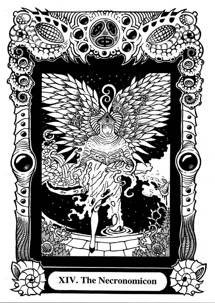 Древняя Книга Necronomicon