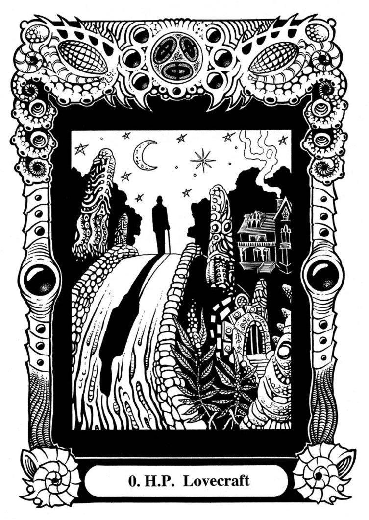 Atu 0: H.P. Lovecraft by Tillinghast23 on DeviantArt