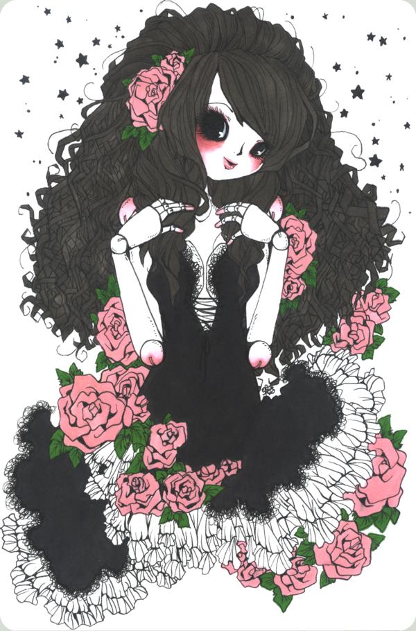 Rosey Cheeks by Chapitre-de-la-Rose