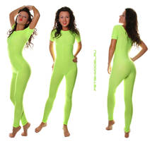 Green Spandex by agnadeviphotographer