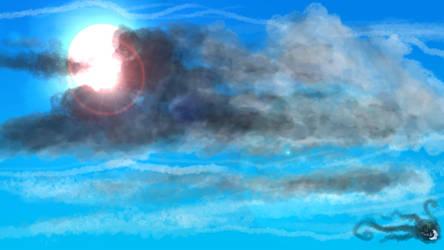Day Sky - Bright Sun HD by MonaMoonlight