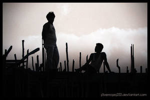 Construction Workers by silverroses222