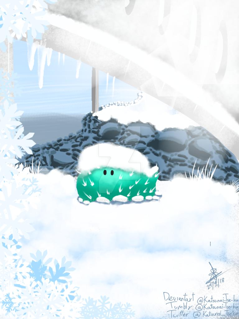 Frosty cactus by Katsunai-Tse-kun