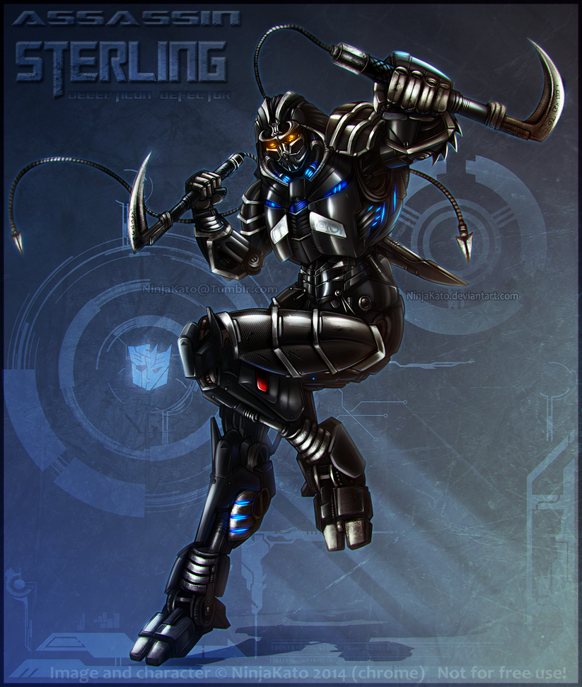 Sterling (Transformers) poster by NinjaKato
