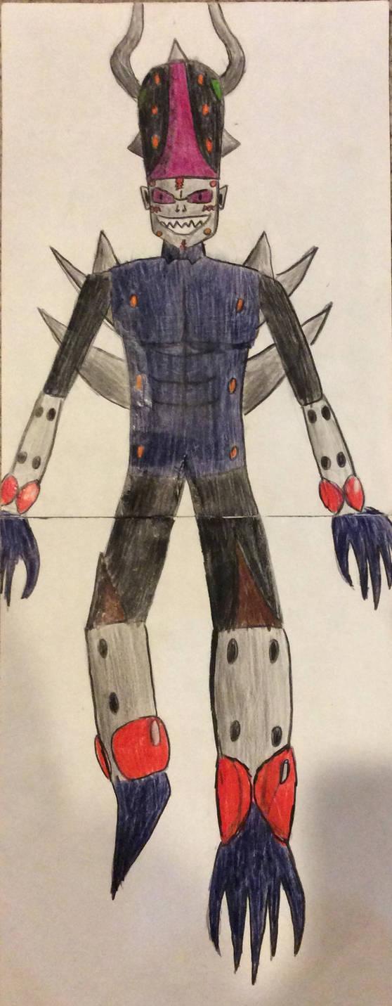 Fairy Tail OCs: Demonoids. Lord Ghastler by TitanXecutor