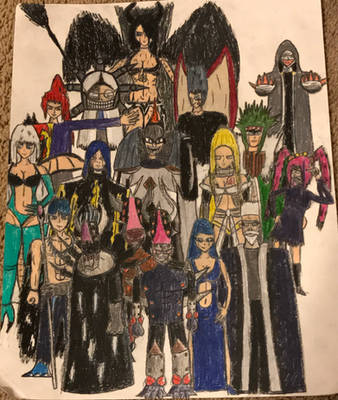 Fairy Tail OCs: Lord Ghastler and the Shedim 16 by TitanXecutor