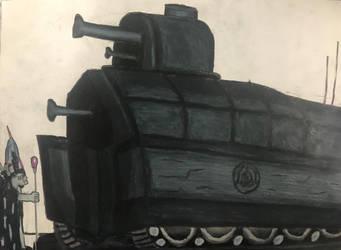 Neraka Kingdom Tank by TitanXecutor