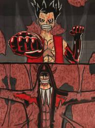 One Piece: Luffy vs Xecstasy