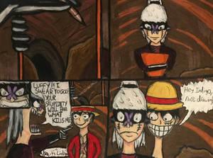 One Piece: Luffy and Lindigo 1