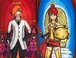 RWBY: Adventures in the Afterlife. Red Angel by TitanXecutor