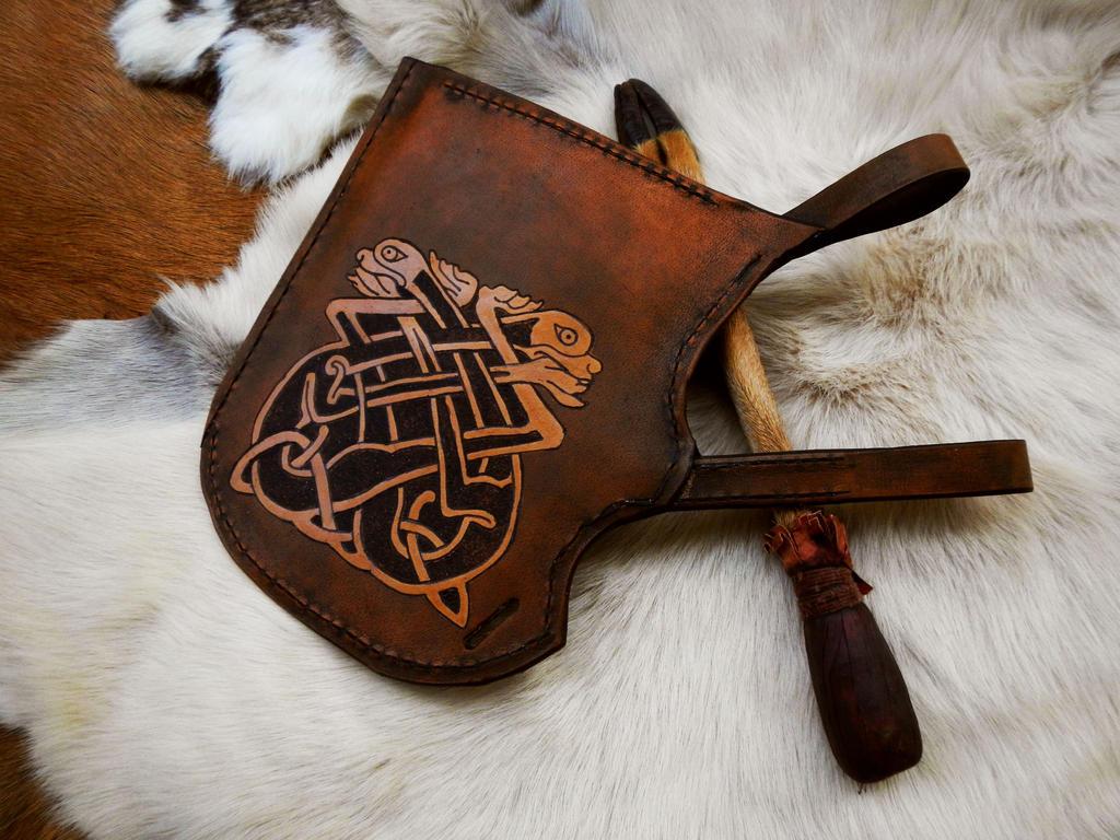 Thamim Archery: Archery Genuine Leather Side Quiver