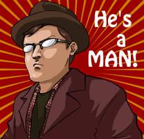 Linkara: He's a MAN by JereduLevenin
