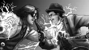 Linkara vs Dr. Insano :Part 2: by JereduLevenin