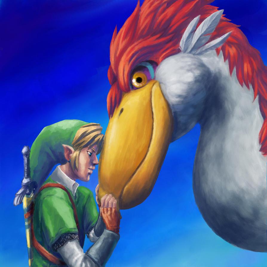 Companions :Skyward Sword: by JereduLevenin