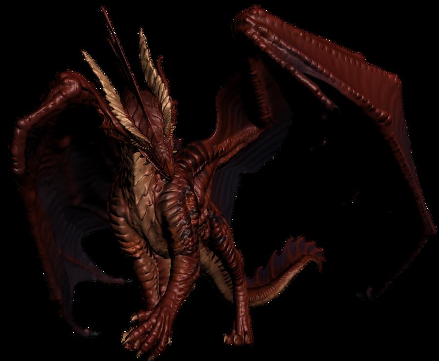 Red Dragon Test Pose 1 By Jeredulevenin On Deviantart