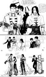Gunsmoke in Gaia (original sketches) by JereduLevenin