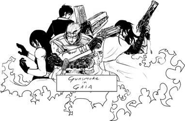 Gunsmoke in Gaia banner by JereduLevenin