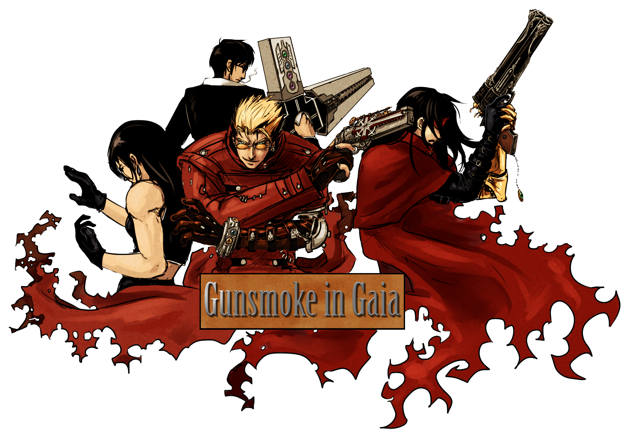 Trigun Best Quootes: Trigun Crossovers?