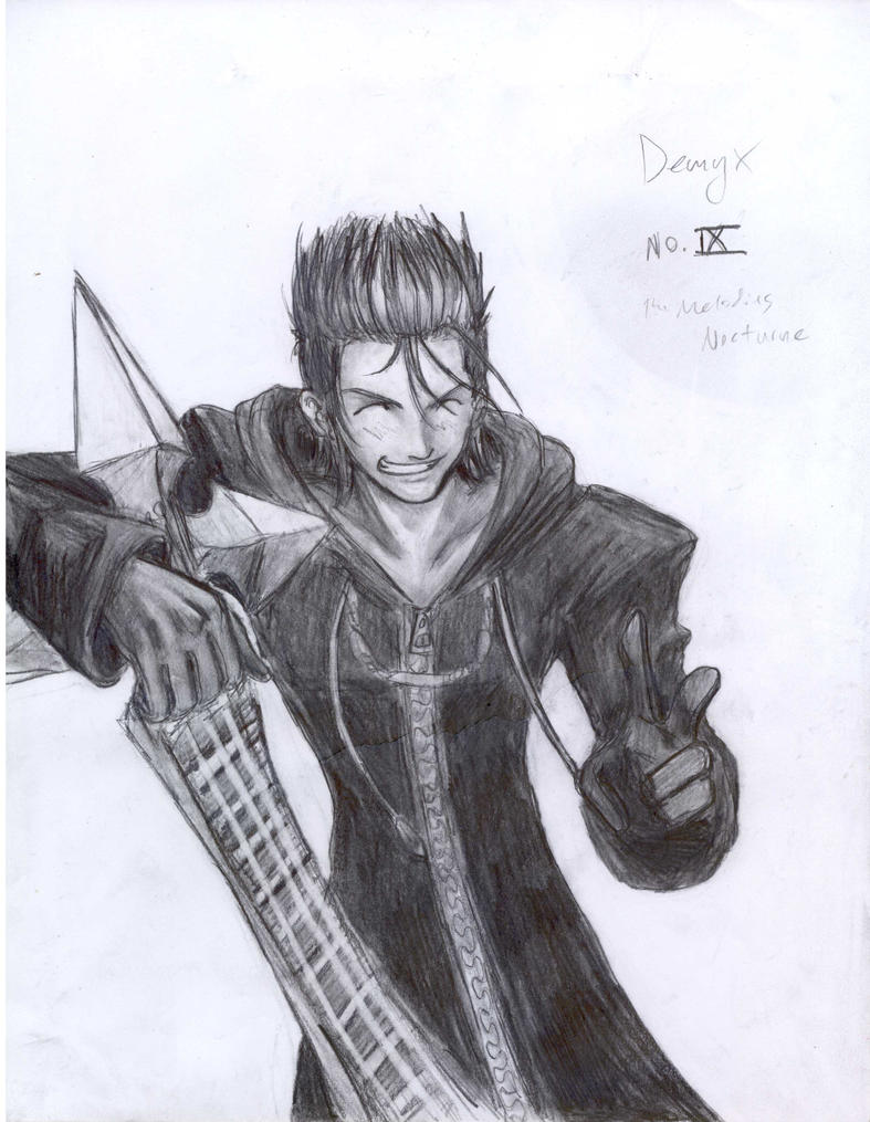 Demyx by JereduLevenin