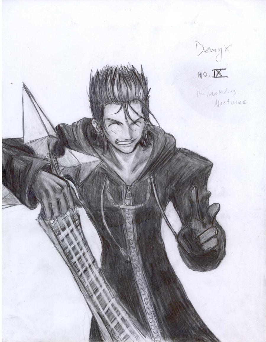 Demyx by JereduLevenin