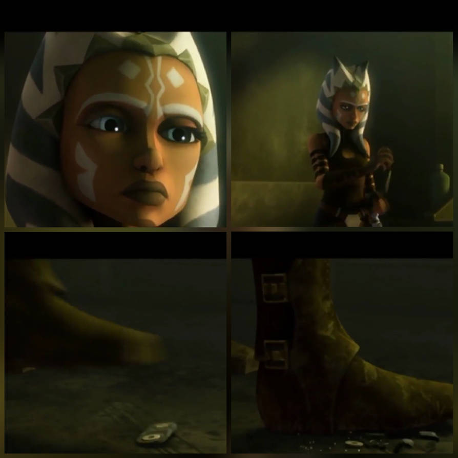 Feet ahsoka tano Ezra learns