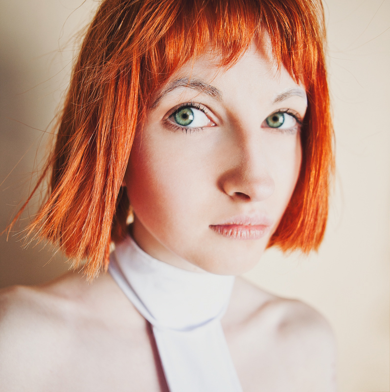 The fifth element leeloo cosplay