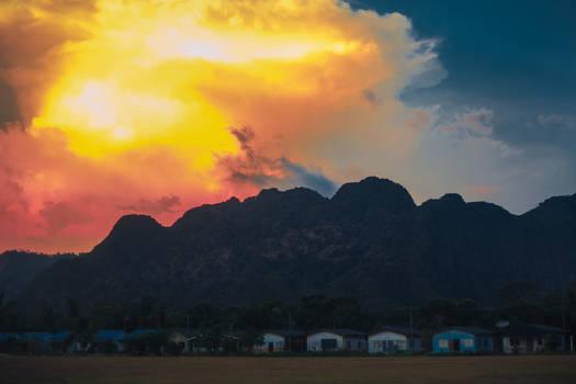 sunset, Thailand, Ao Nang