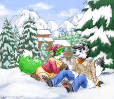 Zarry and Kritter Christmas by zarry