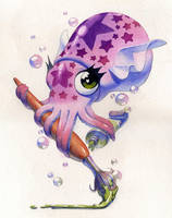 Cepha the Squid by zarry