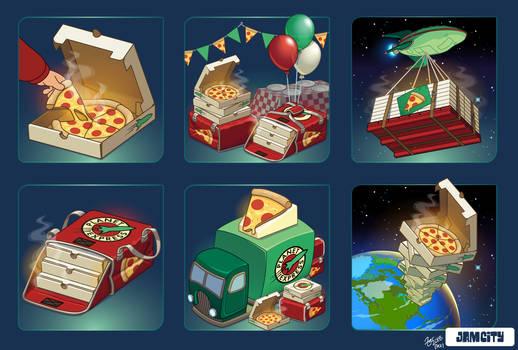 Futurama IAP Icons