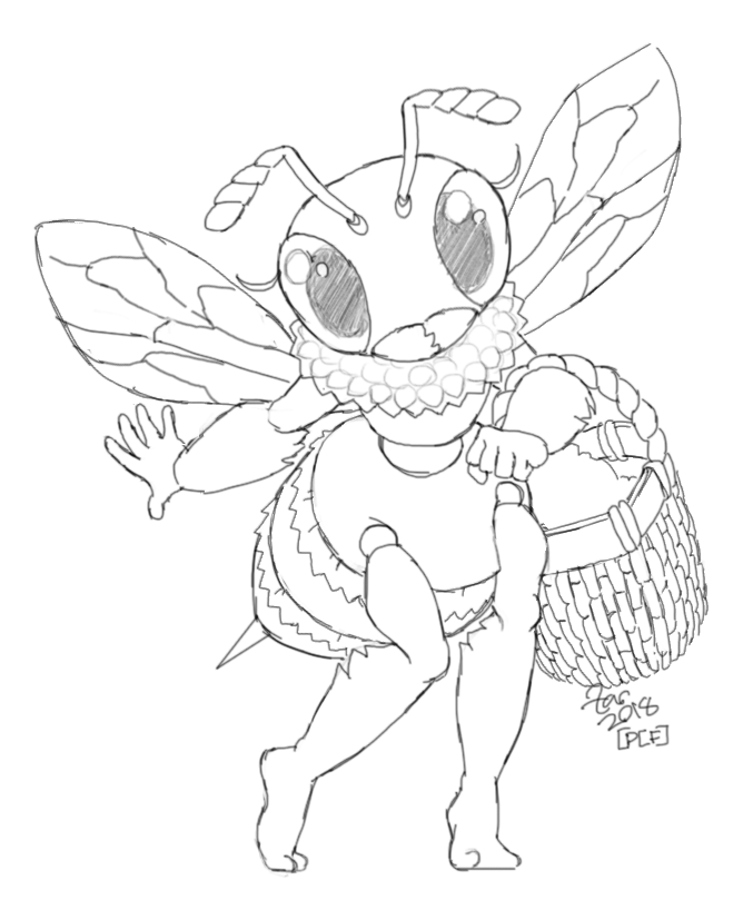 Honeybee Worker by zarry