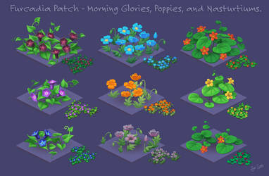 Pixel Flowers for Furcadia