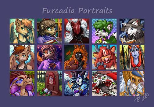 Furcadia Portraits 4