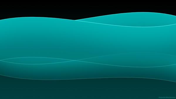 Dark Turquoise Wallpaper HD by ~fireflirter on deviantART
