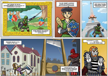 NGamer 11: Le Legend d'Zelda by captainaugust