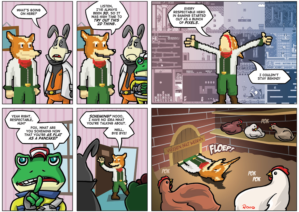 NGamer 18: The Fantastic Mr. Star Fox by captainaugust
