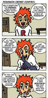 Team Rocket Cartoon by captainaugust