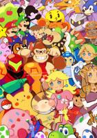 Super Smash Bros. (WiiU/3DS) by Eclipsing