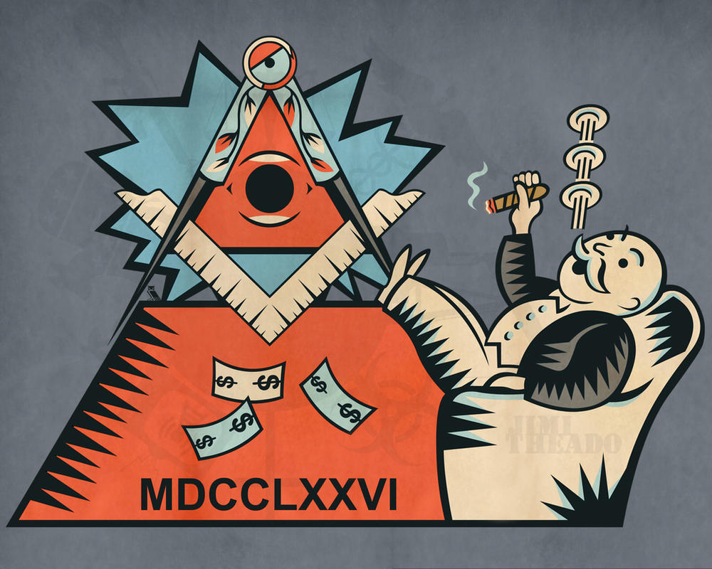 Illuminati Monopoly by NixSeraph