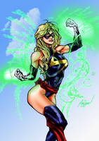 Ms Marvel colors by brimstoneman34