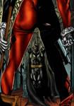 Batman harley colored