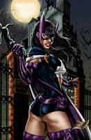 Huntress colored by brimstoneman34
