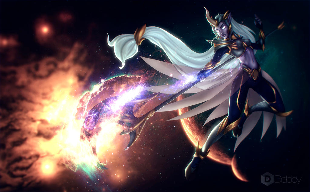 Galatic soraka / Concept skin / League of legends by ...