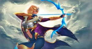 Victorious Ashe / Concept skin / League of legends