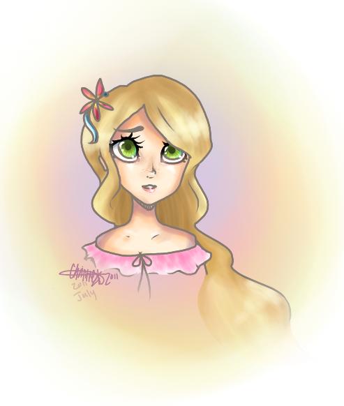 Rapunzel by meepspeaker
